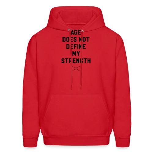 age strength black - Men's Hoodie