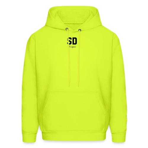 SD Designs blue, white, red/black merch - Men's Hoodie