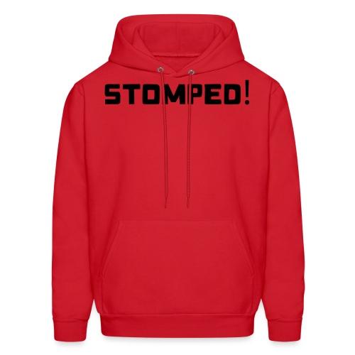 STOMPED black - Men's Hoodie