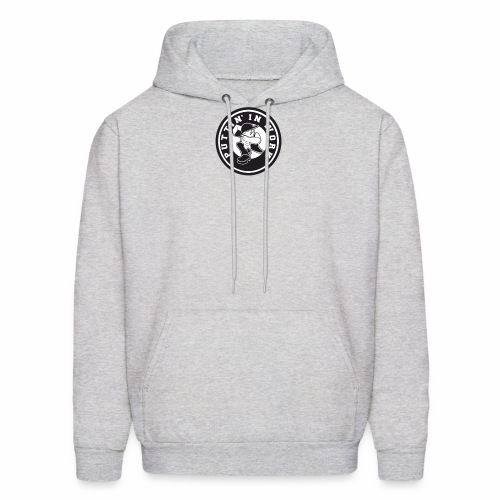 Solid Puttin' In Work Logo - Men's Hoodie
