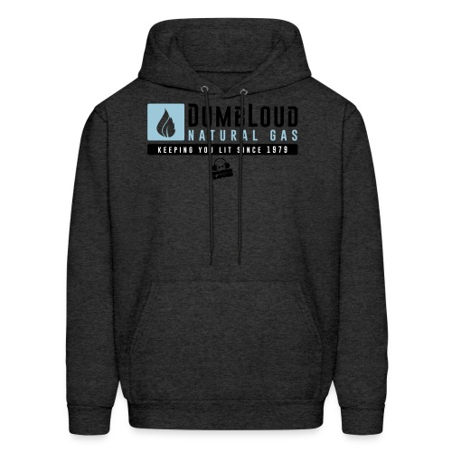 DUMBLOUD NATURAL GAS - Men's Hoodie