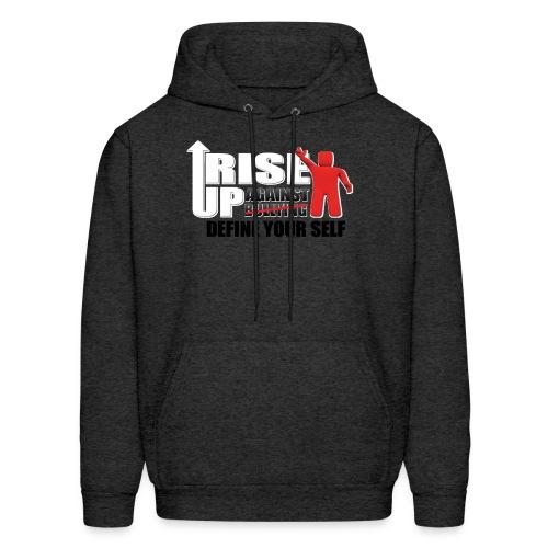 rise up logo - Men's Hoodie
