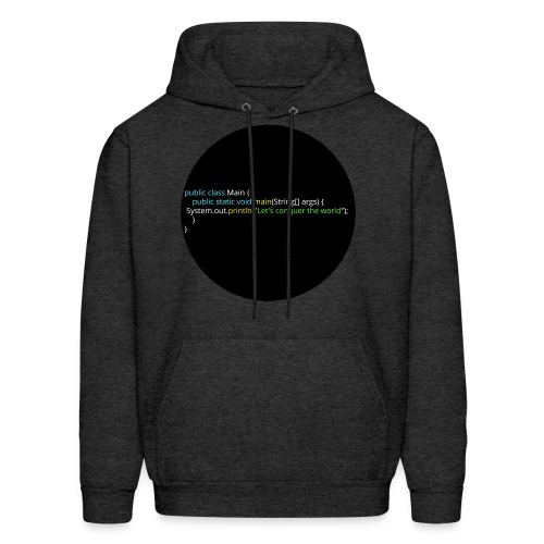 Let's conquer the world. - Men's Hoodie