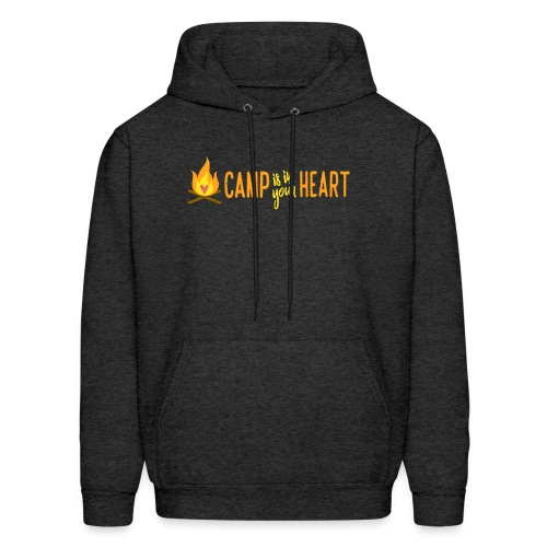 camp is in your heart full color - Men's Hoodie