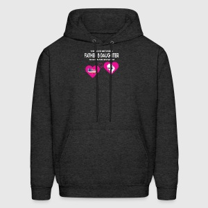 The Love Between Father And Daughter T Shirt - Men's Hoodie