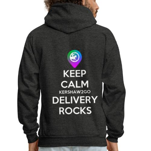 Keep Calm KC2Go Delivery Rocks - Men's Hoodie