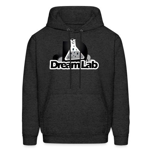 DreamLab Black/Gray - Men's Hoodie