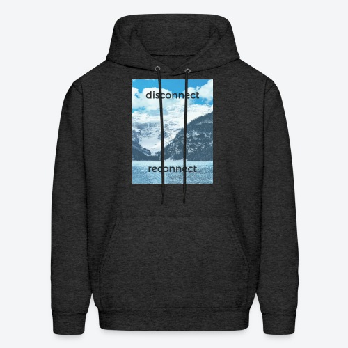 Disconnect Reconnect - Men's Hoodie
