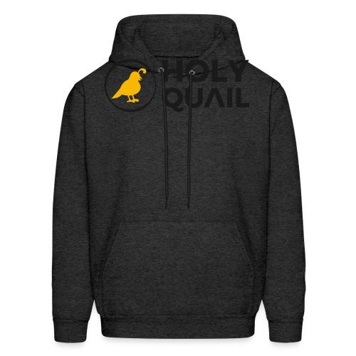 Holy Quail Logo - Men's Hoodie