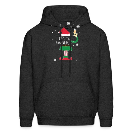 Im the gamer Elf Funny Christmas T-Shirt Gift - Men's Hoodie