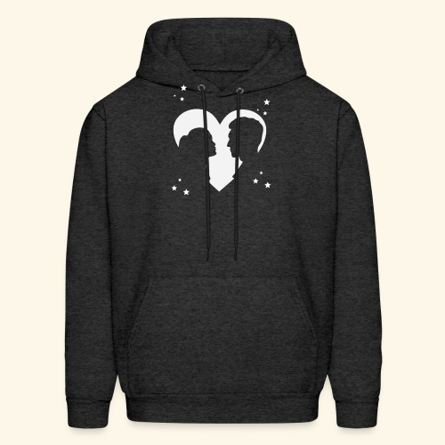 I Love You shirt perfect gift for him , her - Men's Hoodie