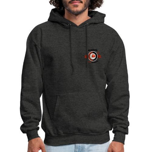 Always Quikthinking Black - Men's Hoodie
