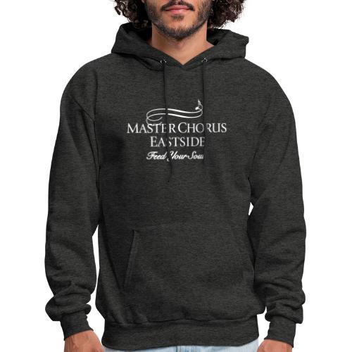 Master Chorus Eastside logo in white - Men's Hoodie