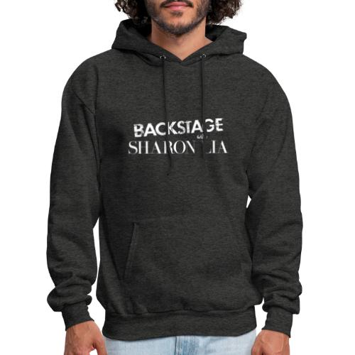 Backstage With Sharon Lia - White - Men's Hoodie