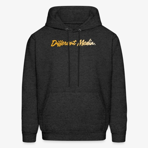 different media gold png - Men's Hoodie
