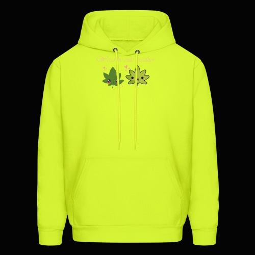 Weed Be Cute Together - Men's Hoodie