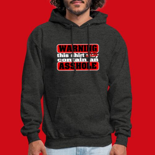 The Shirt Does Contain an A*&hole - Men's Hoodie