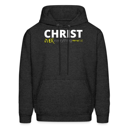 Christ Over Everything - Men's Hoodie