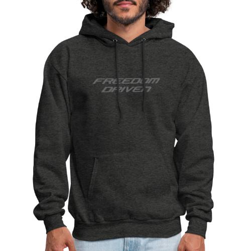 Freedom Driven Official Grey Lettering - Men's Hoodie