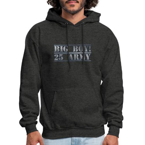 Big Boy Army Design - Men's Hoodie