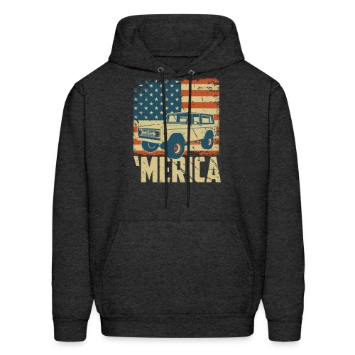 Bronco Truck 'merica Classic Off-Road T-shirt - Men's Hoodie