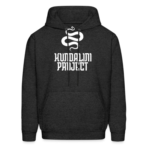 Kundalini white logo - Men's Hoodie