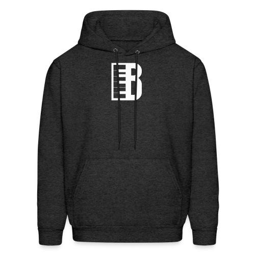 Blute Logo (White) - Men's Hoodie
