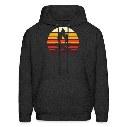 Campfire Sunset - Men's Hoodie