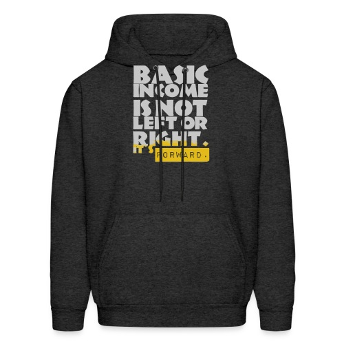 UBI is not Left or Right - Men's Hoodie