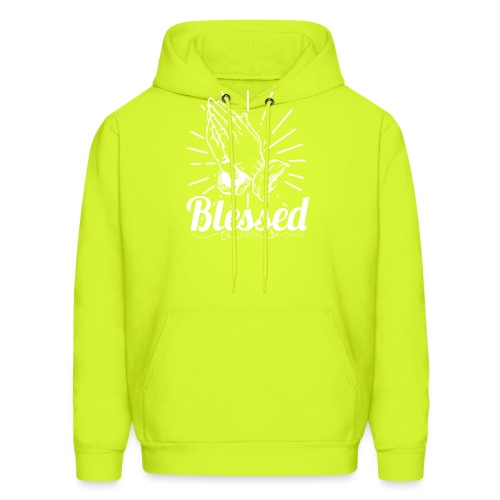 Blessed (White Letters) - Men's Hoodie