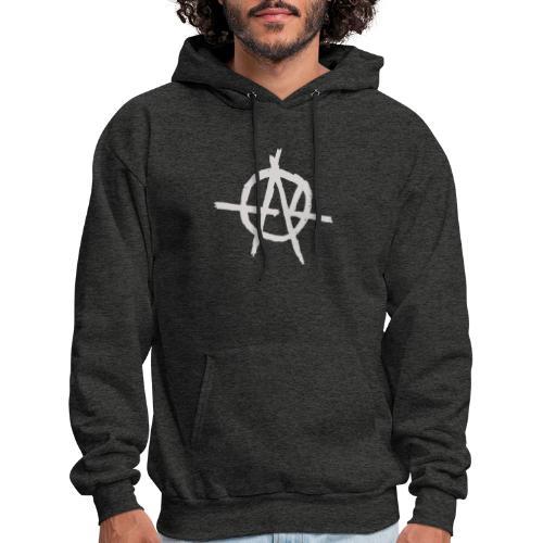 Anarchy (Grey) - Men's Hoodie