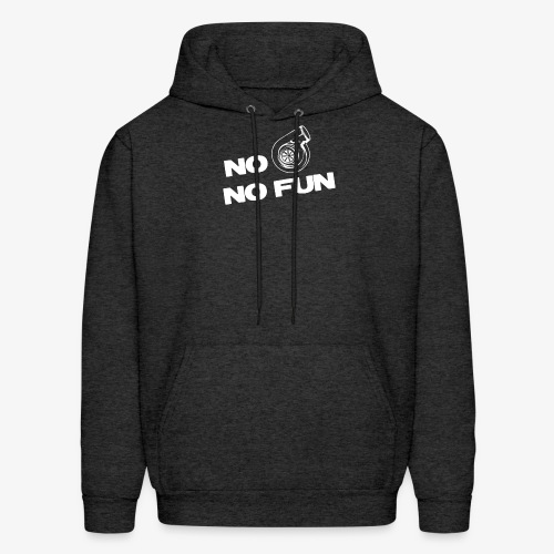 No turbo no fun - Men's Hoodie