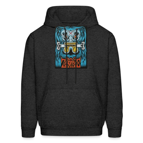 White ZOMBIE limited art print devils rejects - Men's Hoodie