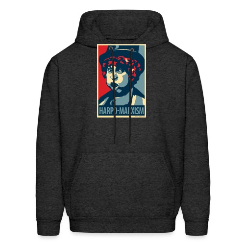 Harpo Marxism: parody of Obama poster - Men's Hoodie