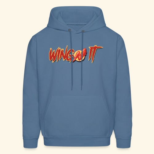 WingN It Logo - Men's Hoodie