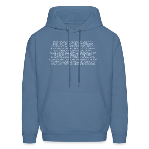 Jazz Greats 1 TShirt (White Lettering) - Men's Hoodie