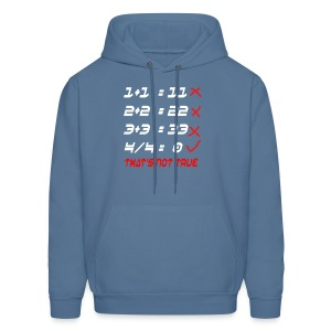 POOR MATH CALCULATION - Men's Hoodie