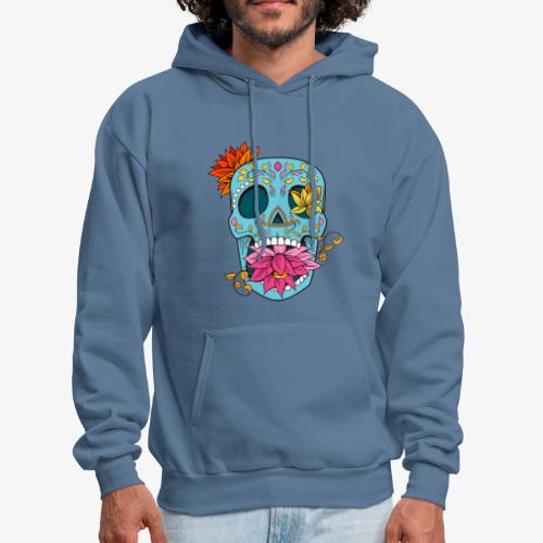 Day of the Dead Sugar Skull T-Shirt - Men's Hoodie
