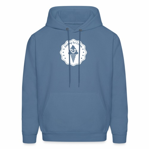 Smiling Ice Cream Batch - Men's Hoodie