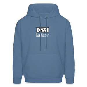 gamister_shirt_design_1_back - Men's Hoodie