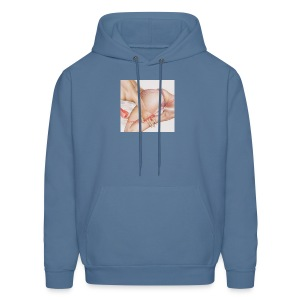 On da phone - Men's Hoodie