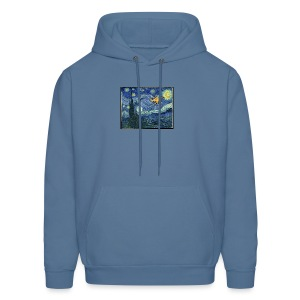 Starry Night Drone - Men's Hoodie
