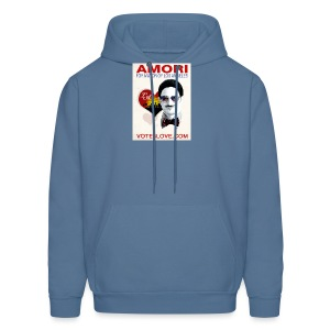 Amori for Mayor of Los Angeles eco friendly shirt - Men's Hoodie