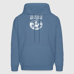 Hunting Shirt Men Father and Daughter - Men's Hoodie
