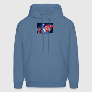 4 July USA Independence Day - Men's Hoodie