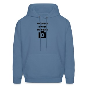 right in the face - Men's Hoodie