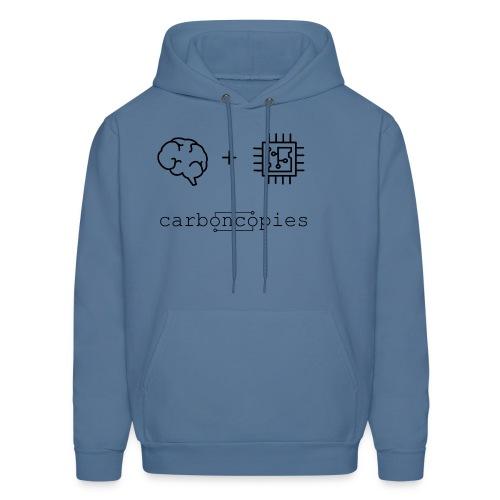 Carboncopies T-Shirt (Black) - Men's Hoodie