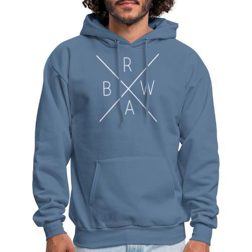 BRWA ShirtX White - Men's Hoodie