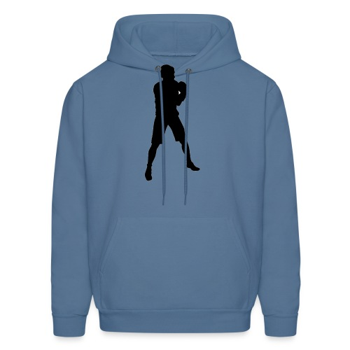 FIF Men Full Body Fighter Design - Men's Hoodie