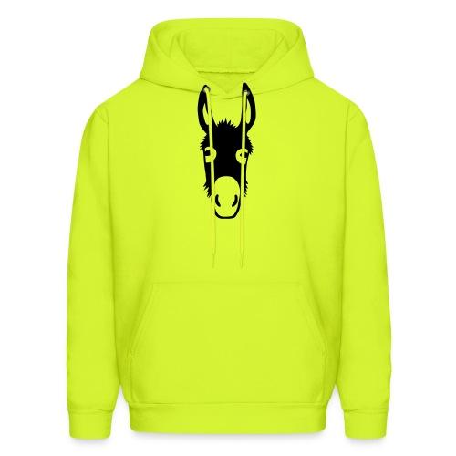 donkey mule horse muli pony - Men's Hoodie